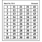 VS - Number Sheets