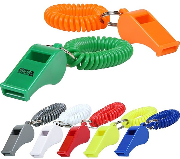 CL100 - Whistle Key Chain