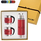 LG-9278 - Tuscany™ Thermos & Coffee Cups Gift Set