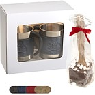 LG-9356 - Casablanca™ Coffee Cups & Hot Cocoa Gift Set