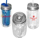 PL-4055 - COOL GEAR® 16 OZ. Mason Jar Water Bottle