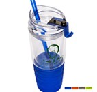 PL-4116 - QUENCH™ 22 oz. Tumbler with Straw