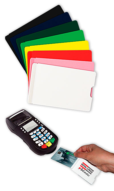 10461 Vertical thin card holder