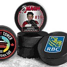 "10799 - 3"" Official Hockey Puck (rubber)"
