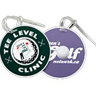 11303 - Large Round Golf Bag Tag
