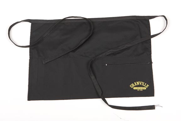Bar Apron Zipper Pocket