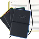 PCA3165 - Personal Journals - Metal edge Notes