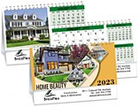 Home Beauty - Double View Calendar - PCA3750