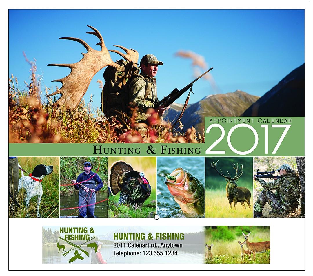 Pca4300 hunting fishing calendar for Hunt fish calendar