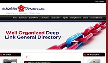 Active links dir Web Page
