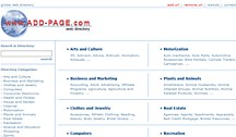 Add-Page Web Site