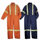 Coverall With Reflective Tape