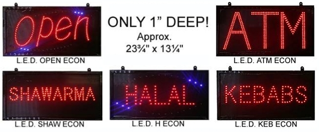 Economical LED Signs